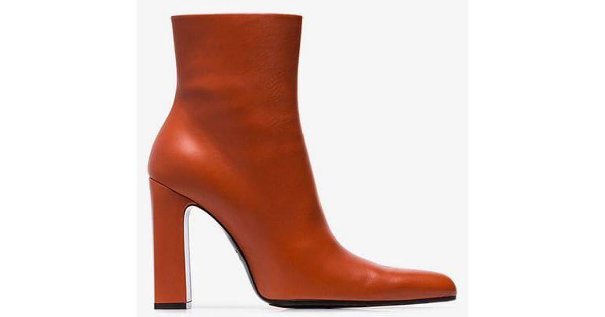 Ankle Boots Black Round Denim 8qarxs8 110 Balenciaga FqawP86