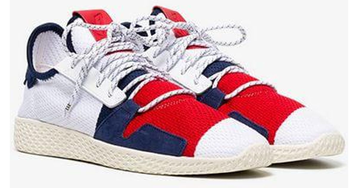 Adidas Red By Pharrell Williams Tennis Hu Bbc Trainers for men