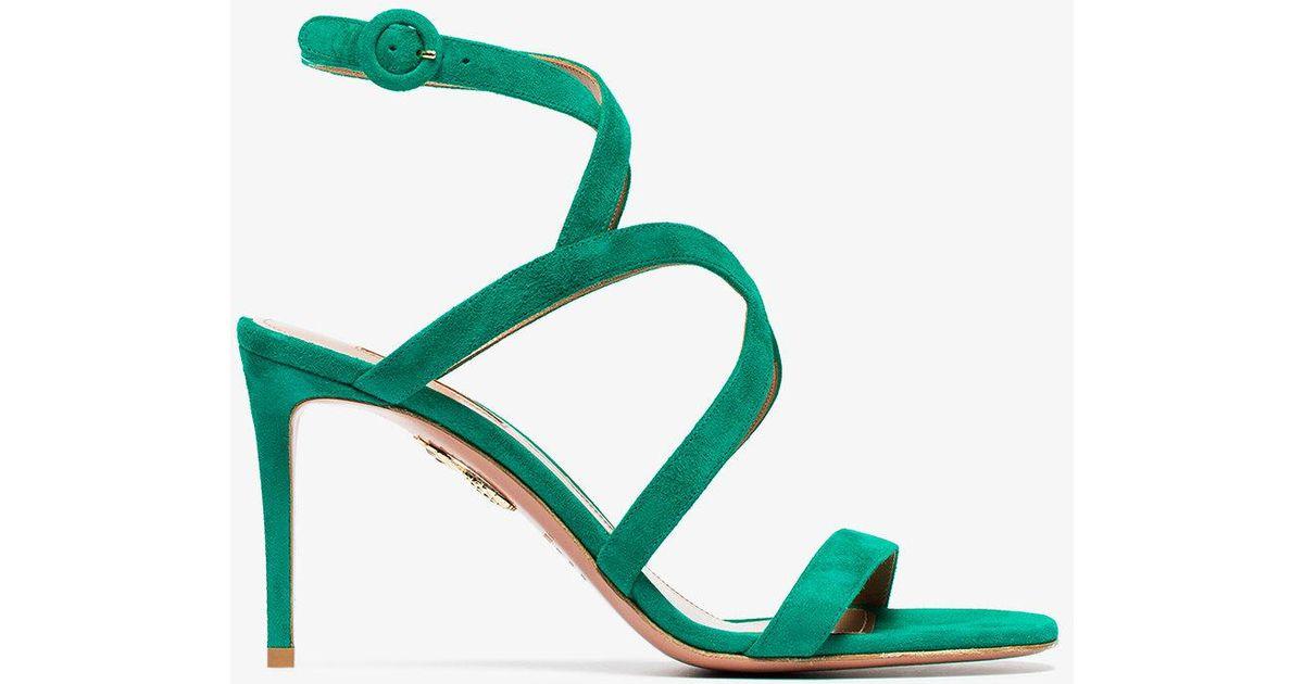 Morena sandals - Red Aquazzura N9PxSQ62