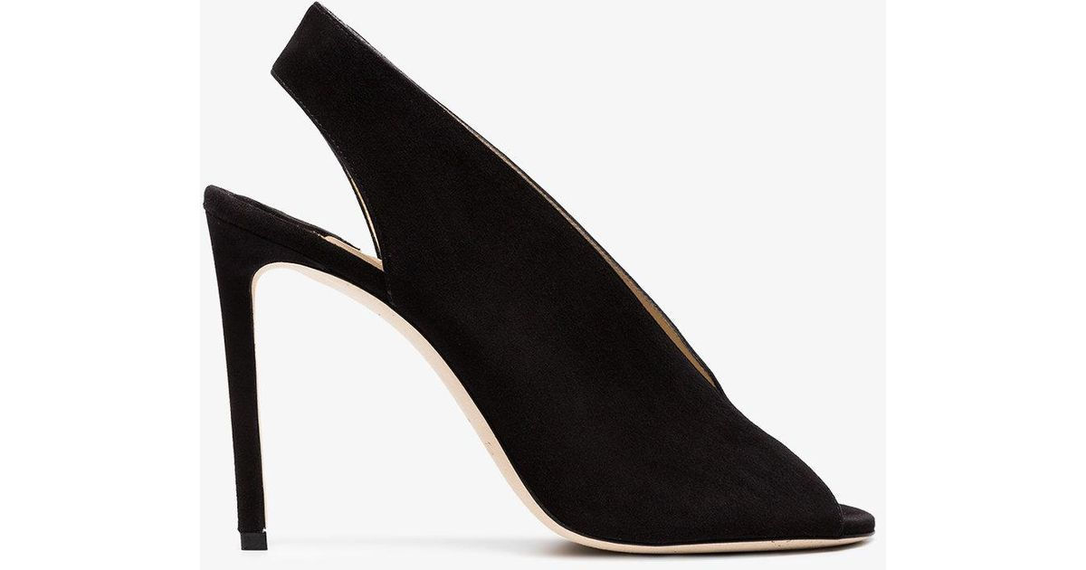 good selling online sale with paypal Jimmy Choo Shar 100 Leather Pump cheap sale visit new cheap sale extremely qbp15Wjl