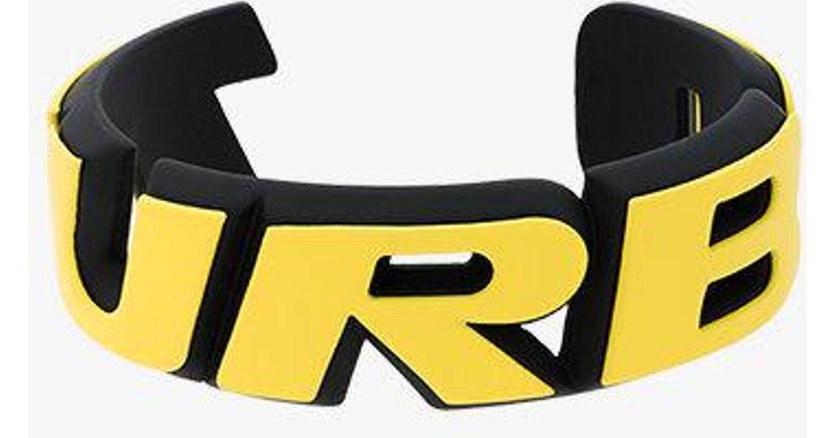 Balenciaga Turbo Badge Bracelet QUMt9Yyv3r