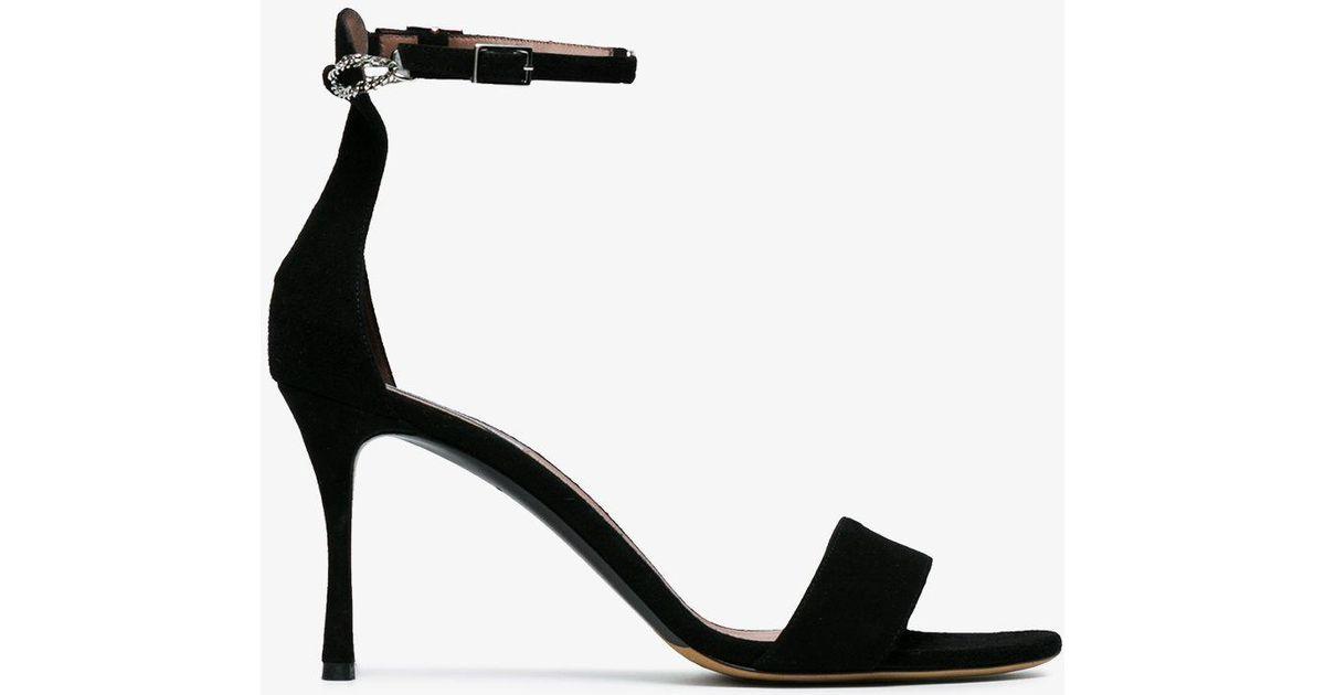 Tabitha Simmons Tilda Chain suede sandals IDvoQlNK