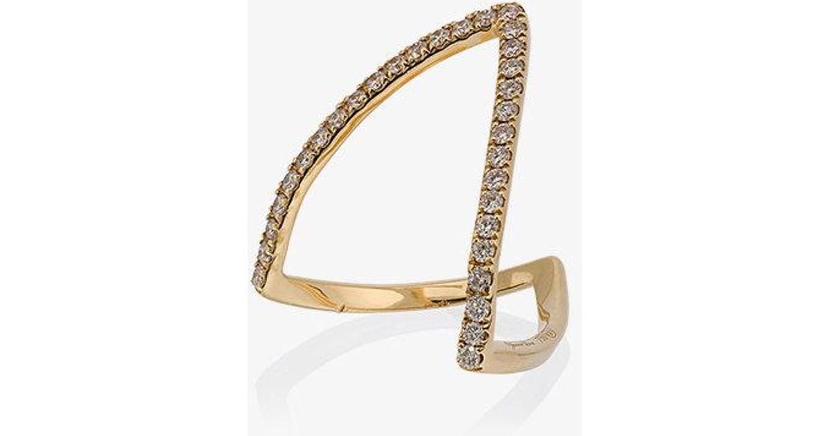 Yvonne Léon Viviane looped ring - Metallic 7qxE0zXa