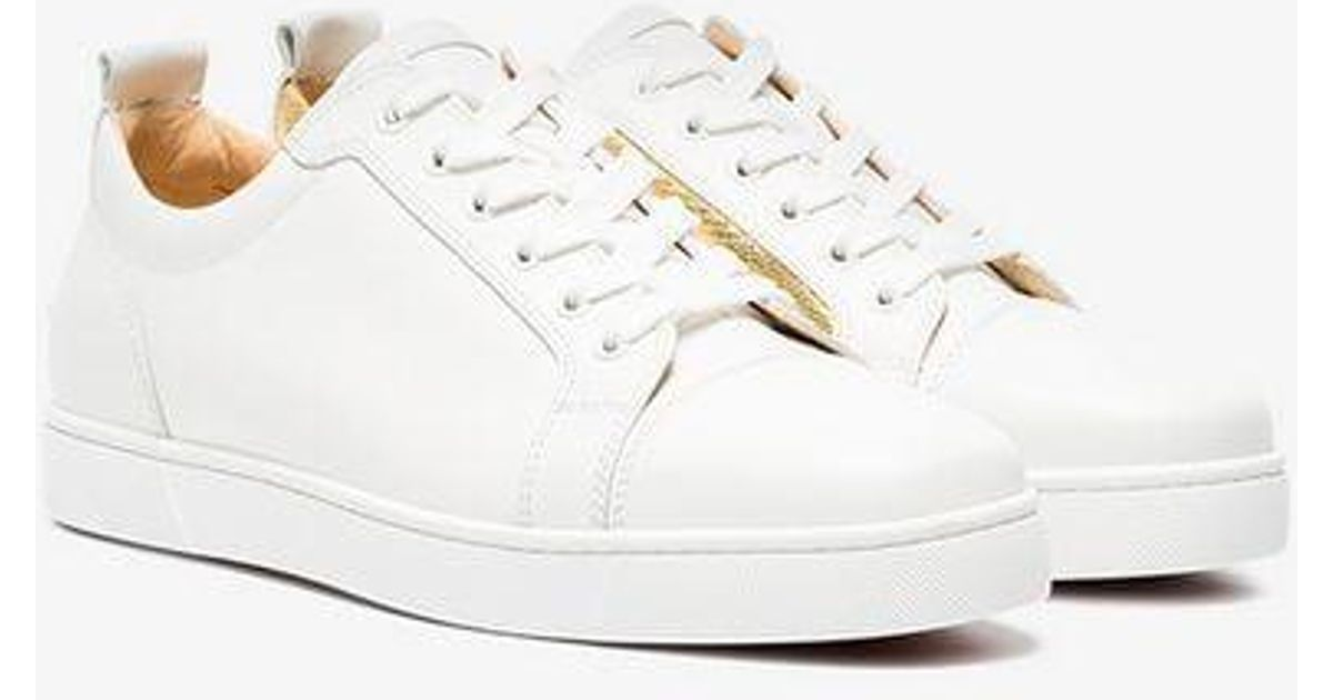 6ac615b215ee Christian Louboutin White Yang Louis Junior Sneakers in White for Men - Lyst