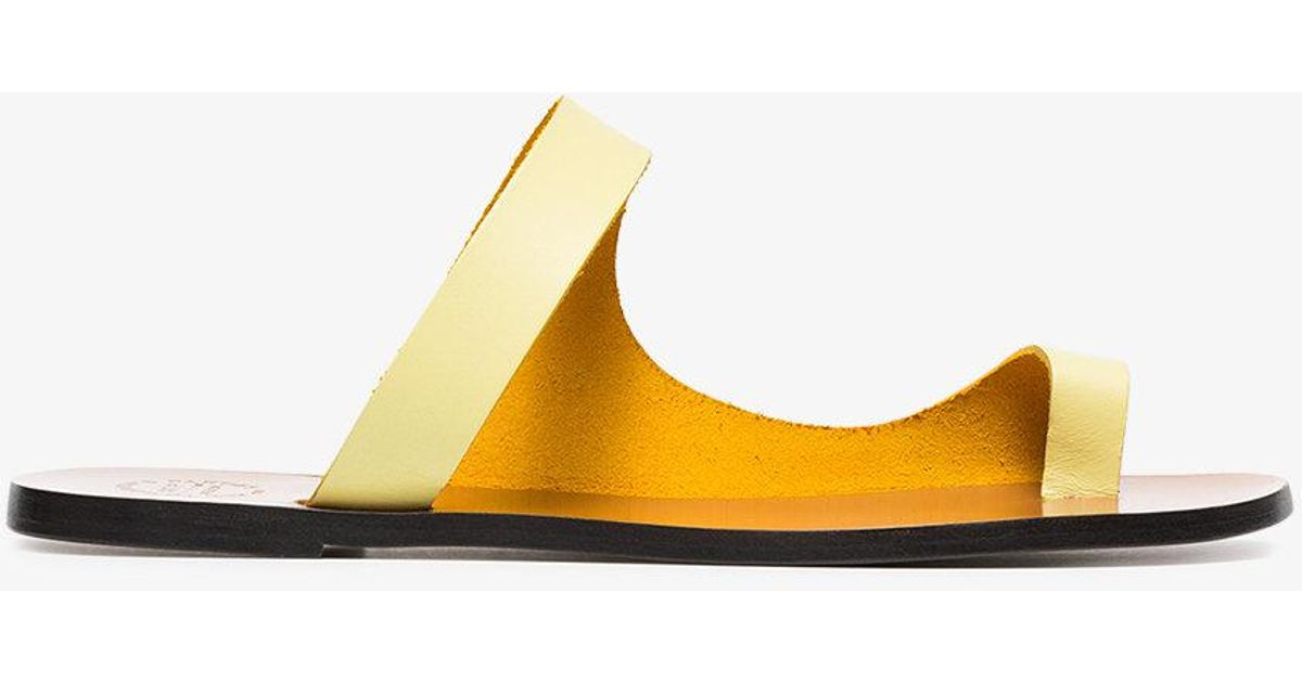 Atp Atelier cut-out toe slides for sale cheap authentic clearance cheap online free shipping fashion Style sale nicekicks cheap sale low price 2dqFHdnX