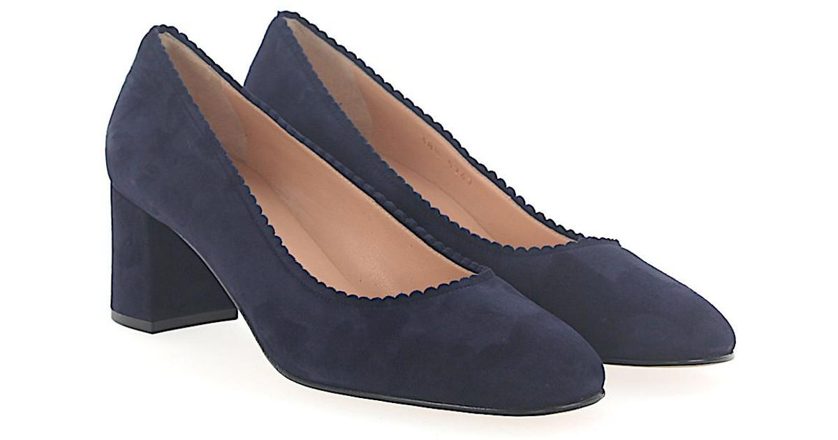 Pumps 5747 suede blue Unützer Clearance New Styles Outlet New Arrival Best Wholesale Sale Store Clearance Buy DduOnfntqK