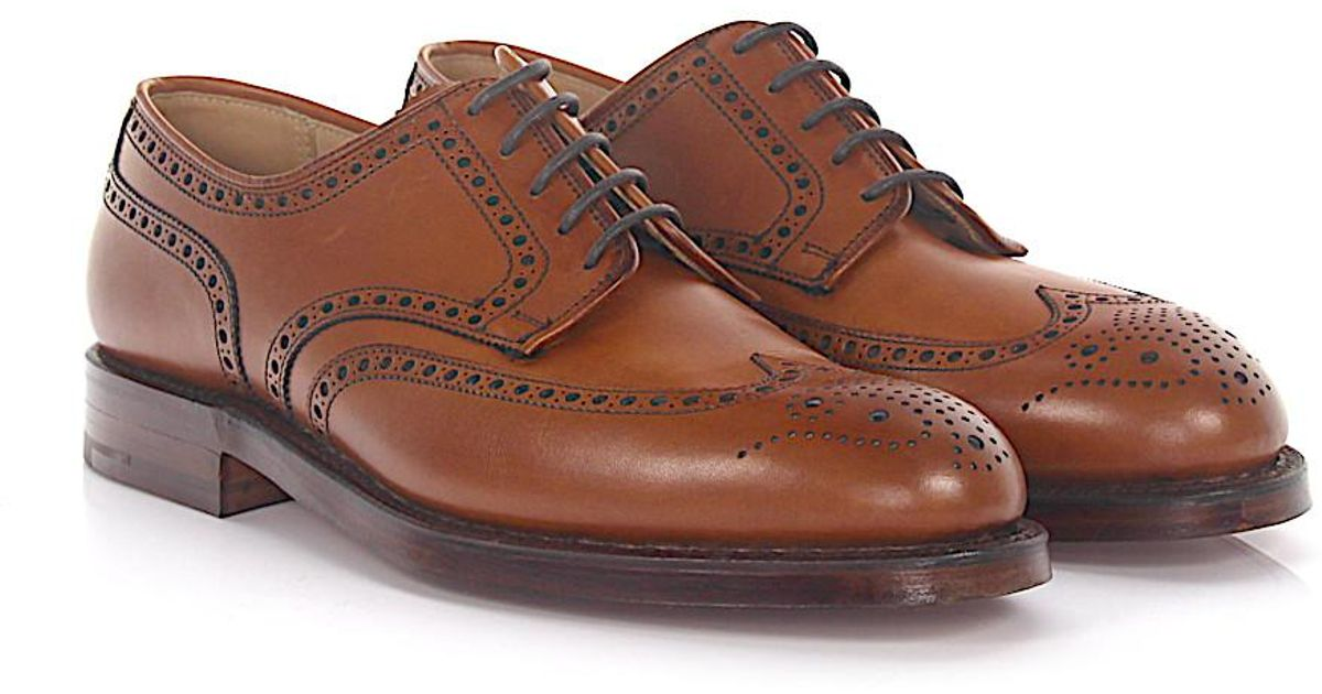 Budapester CARDIFF leather brown Crockett & Jones SDTNGUMvgl