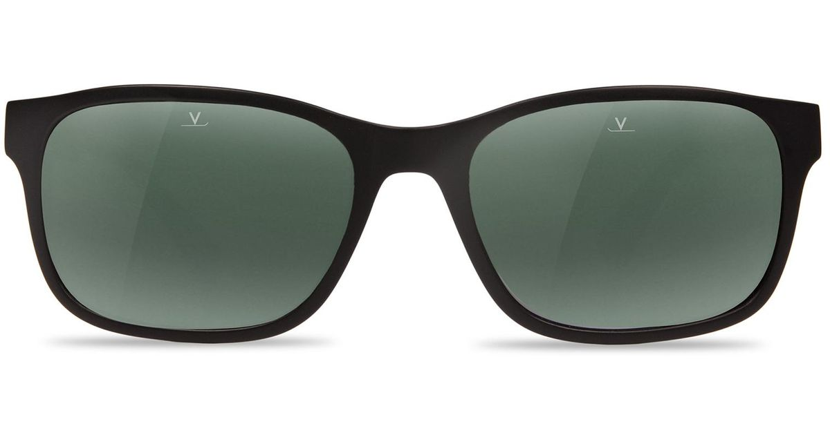 db7ba100dcc8 Lyst - Vuarnet Sunglasses District Acetate Black in Black