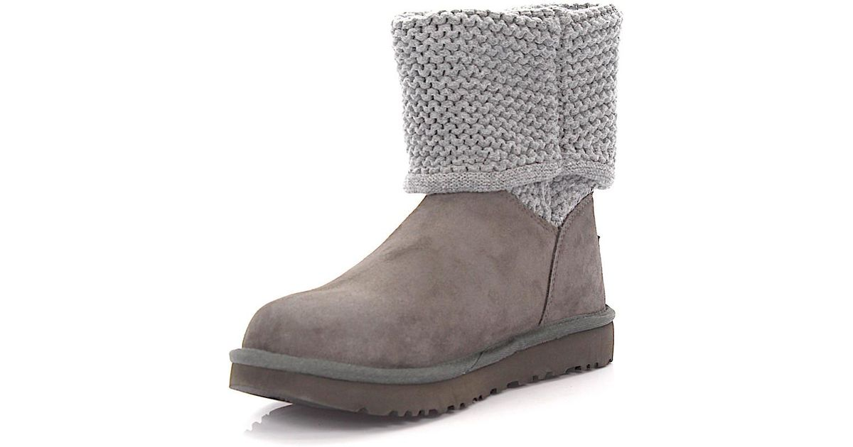 32cac18825d where can i buy ugg grey knit boots 6bdbe 7575e
