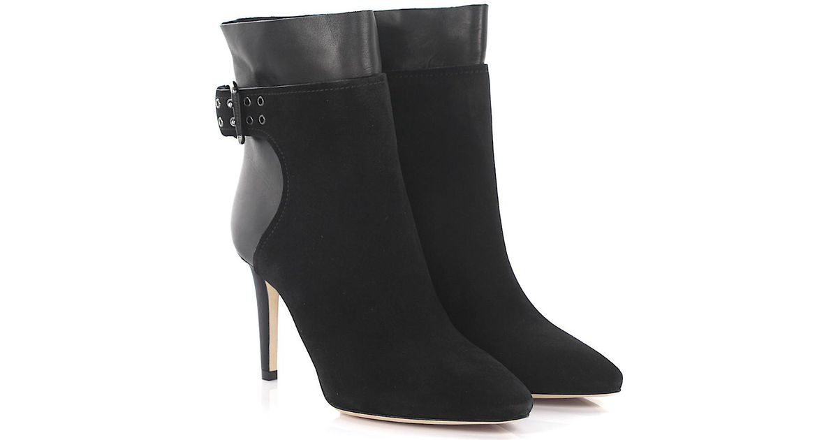 Jimmy choo Boots Major 85 suede claret