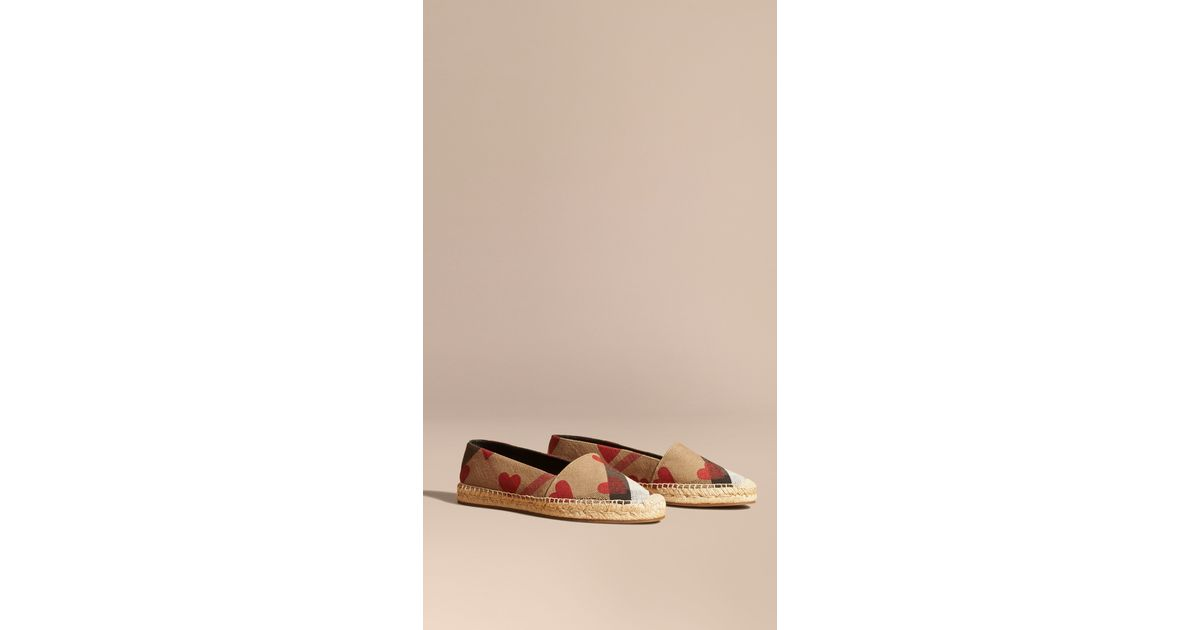 4dd03dfef2313 Burberry Hodgeson Check Espadrilles in Brown - Lyst
