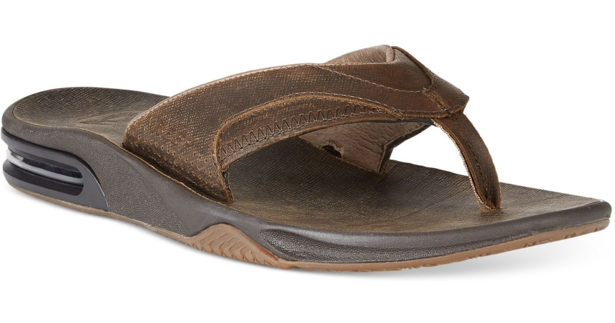 9335d0ee9f9 Lyst - Reef Fanning Ultimate Sandals in Brown for Men