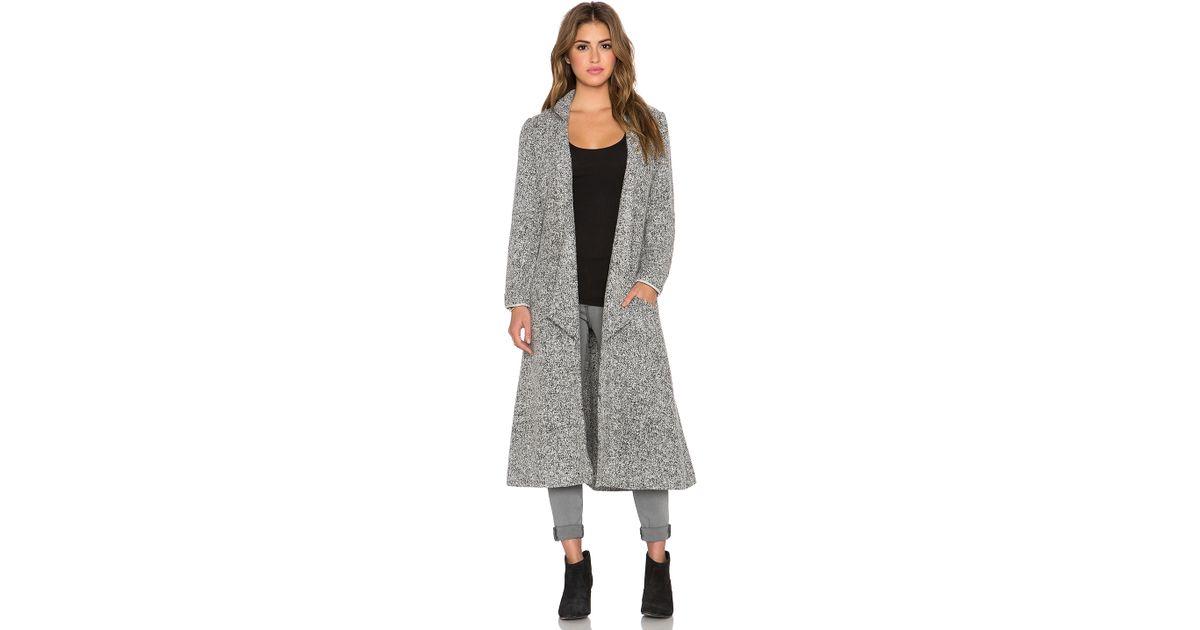 Somedays lovin Shrubs Wool Duster Coat in Gray | Lyst