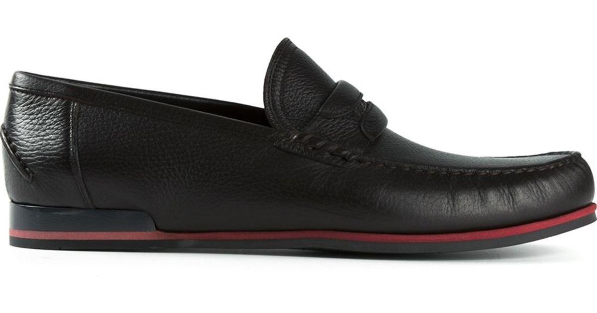 07ef4597d1b Lyst - Dolce   Gabbana  Genova  Loafers in Black for Men