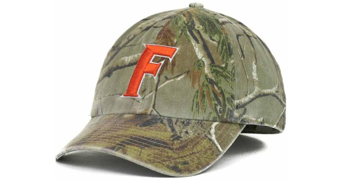 96eab1aed470b8 47 Brand Florida Gators Real Tree Ii Franchise Cap in Green for Men - Lyst