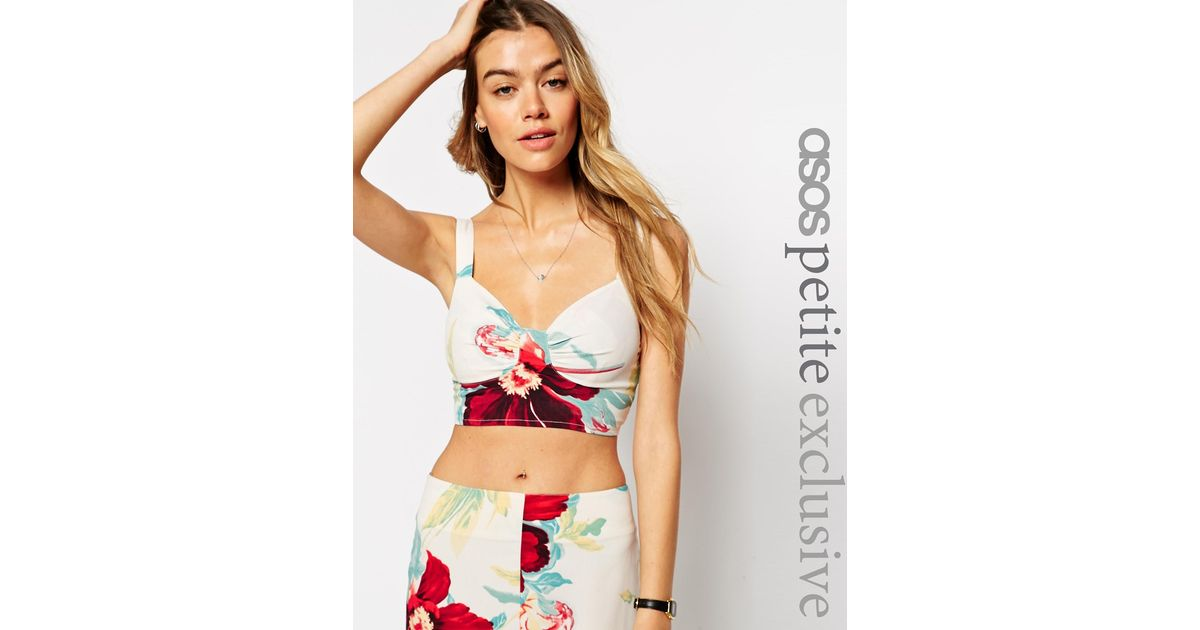 Buy low price, high quality bralette floral crop top with worldwide shipping on oraplanrans.tk