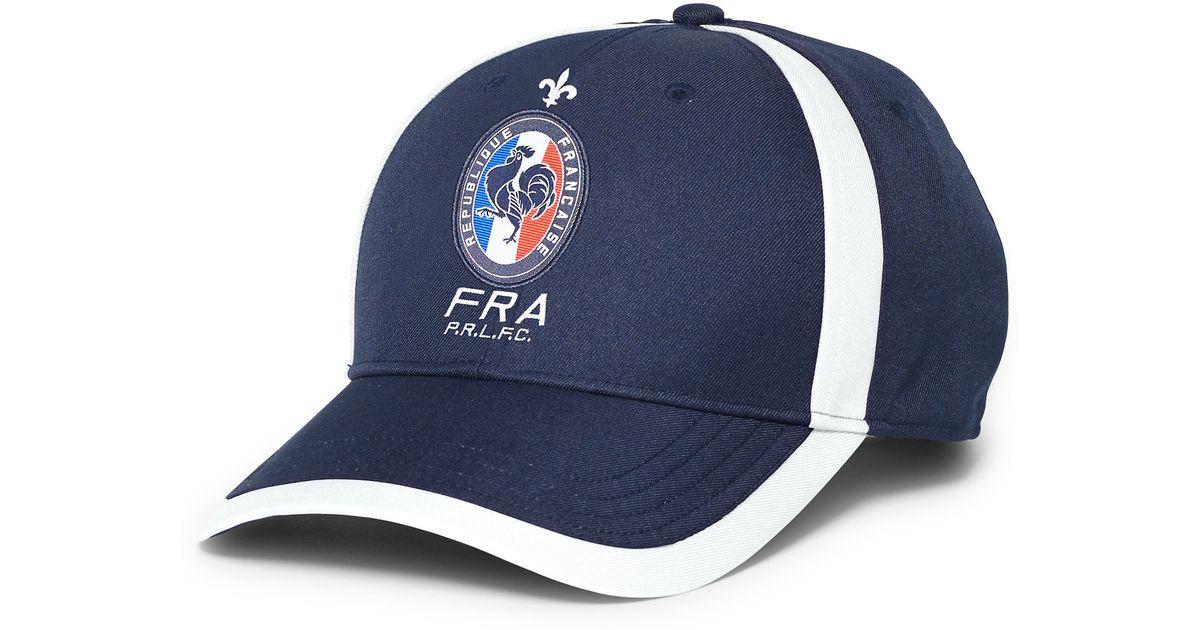 Lyst - Ralph Lauren France Baseball Cap in Blue for Men 05fd11269a8