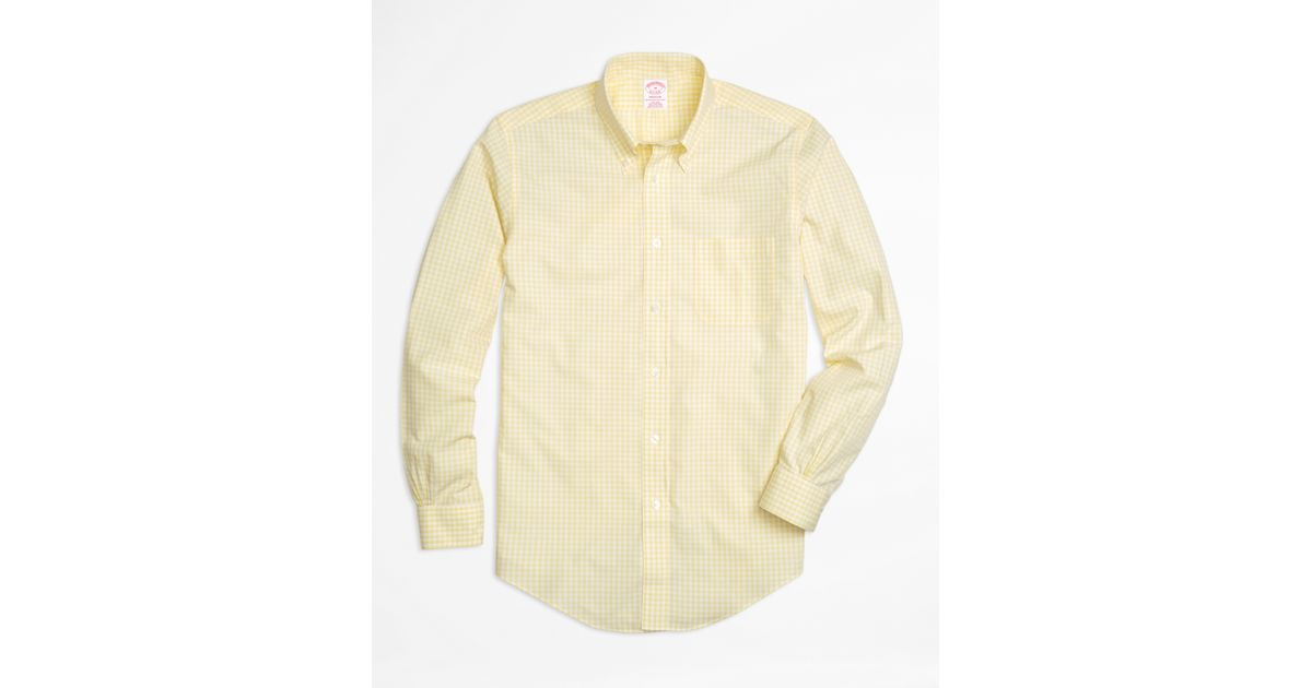 Brooks Brothers is running a sale today, 50% off dress shirts online. Their wrinkle-free material is the best I've ever used as far as being wrinkle-free. Downside to BB is that even their slim fit shirts .