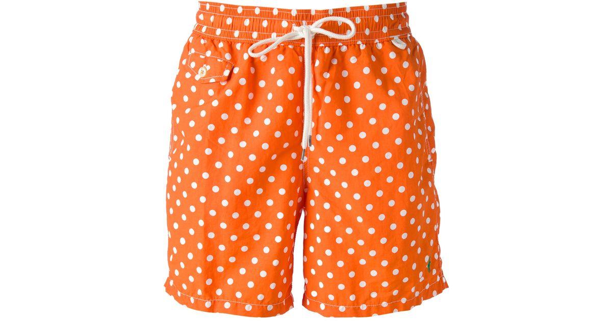 short polo ralph lauren ralph lauren polka dot shorts