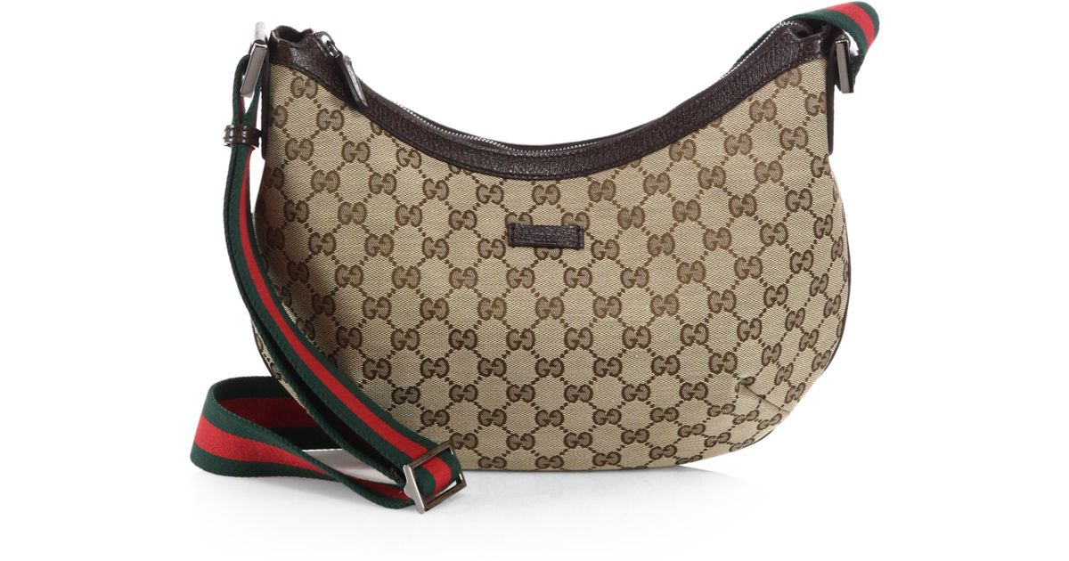 5bed484733c Lyst Gucci Original Gg Canvas Messenger Bag In Brown. Gucci Canvas  Messenger Bag Photos And Wallpaper Hd