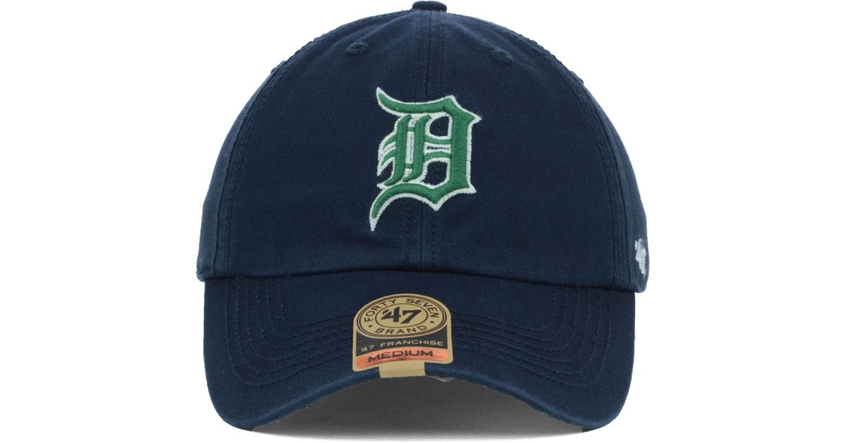 finest selection b5ce3 0040f ... usa lyst 47 brand detroit tigers mlb dublin cap in blue for men 1c235  26c6b
