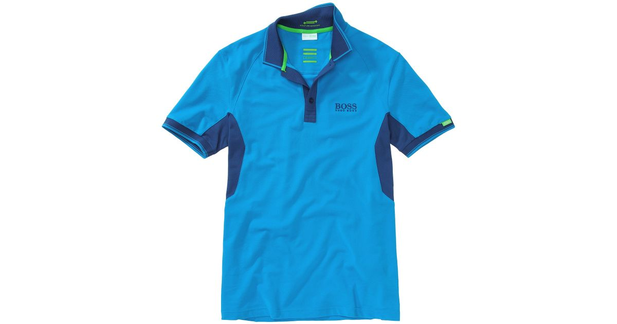 f93f2c332 BOSS Green Golf Polo Shirt Paddy Mk From The Martin Kaymer Collection in  Blue for Men - Lyst