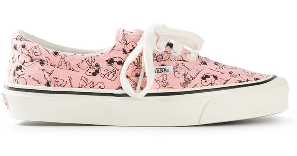 761396b003c655  snoopy  Vans Men For Lyst Pink In Sneakers GMUpLVqSz