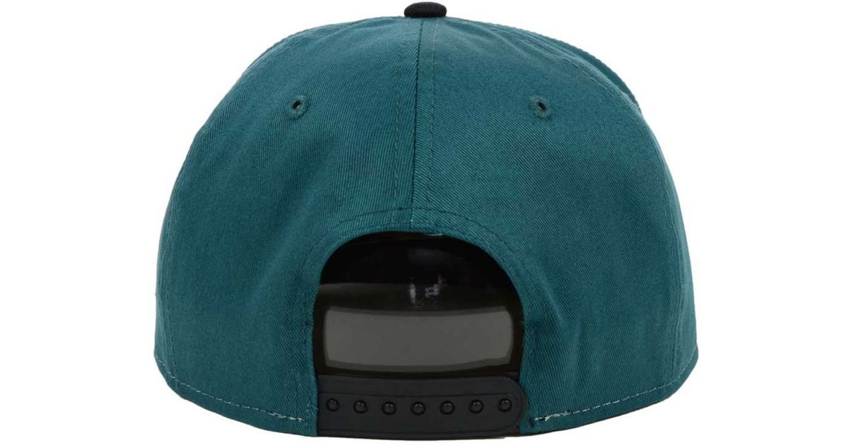 buy online 196f5 67995 Lyst - KTZ Kids  Philadelphia Eagles Nfl Draft 2014 9Fifty Snapback Cap in  Green for Men