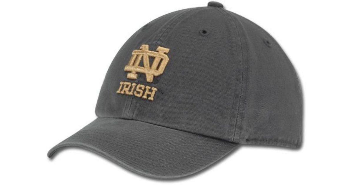 52b7af604a151 Lyst - 47 Brand Kids  Notre Dame Fighting Irish Clean Up Cap in Blue for Men