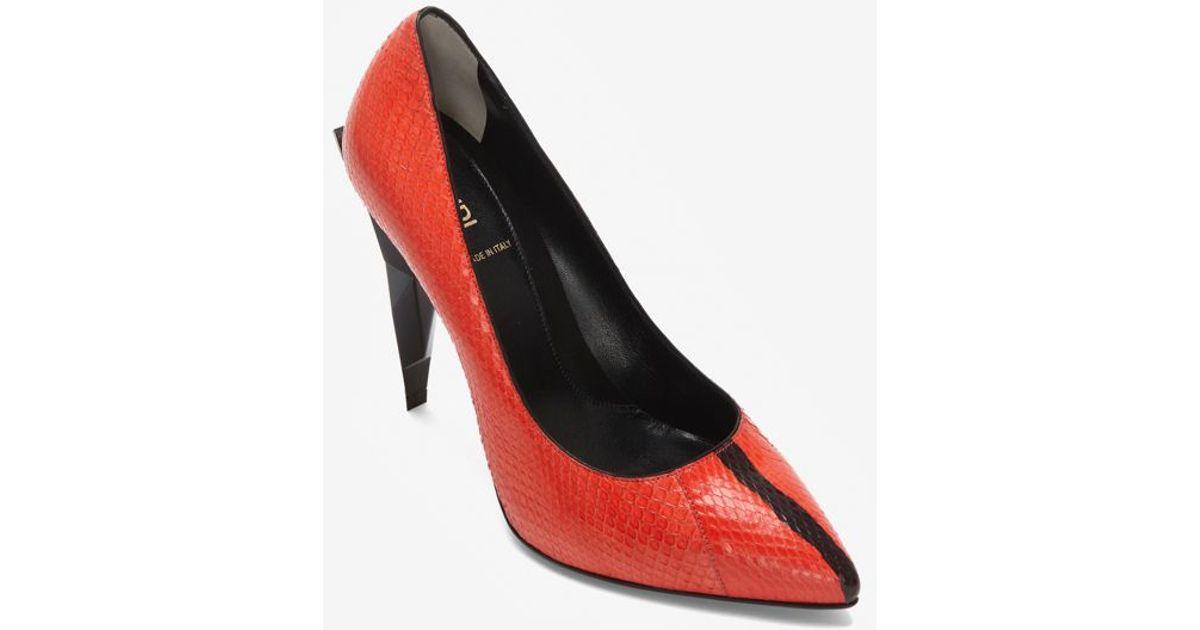 Court pumps - Red Fendi CGzX4