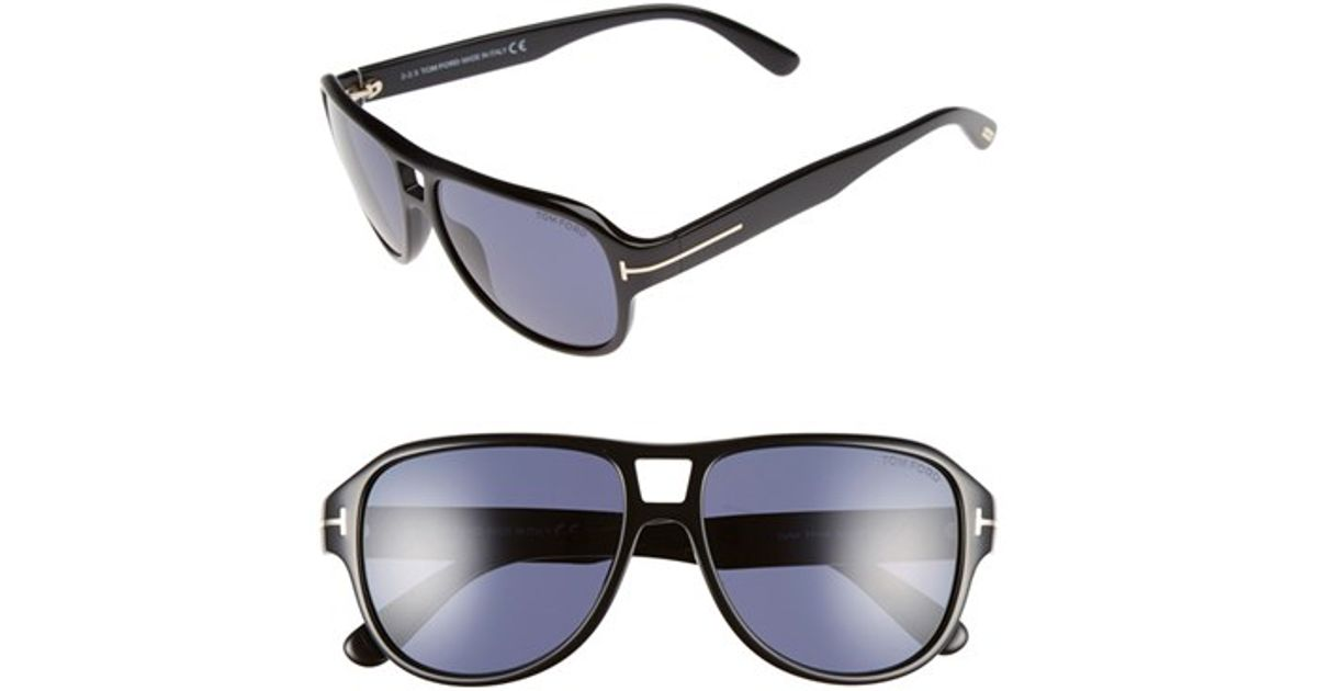 8b5011c61f12 Tom Ford Maximillion Aviator Sunglasses Shiny Blue