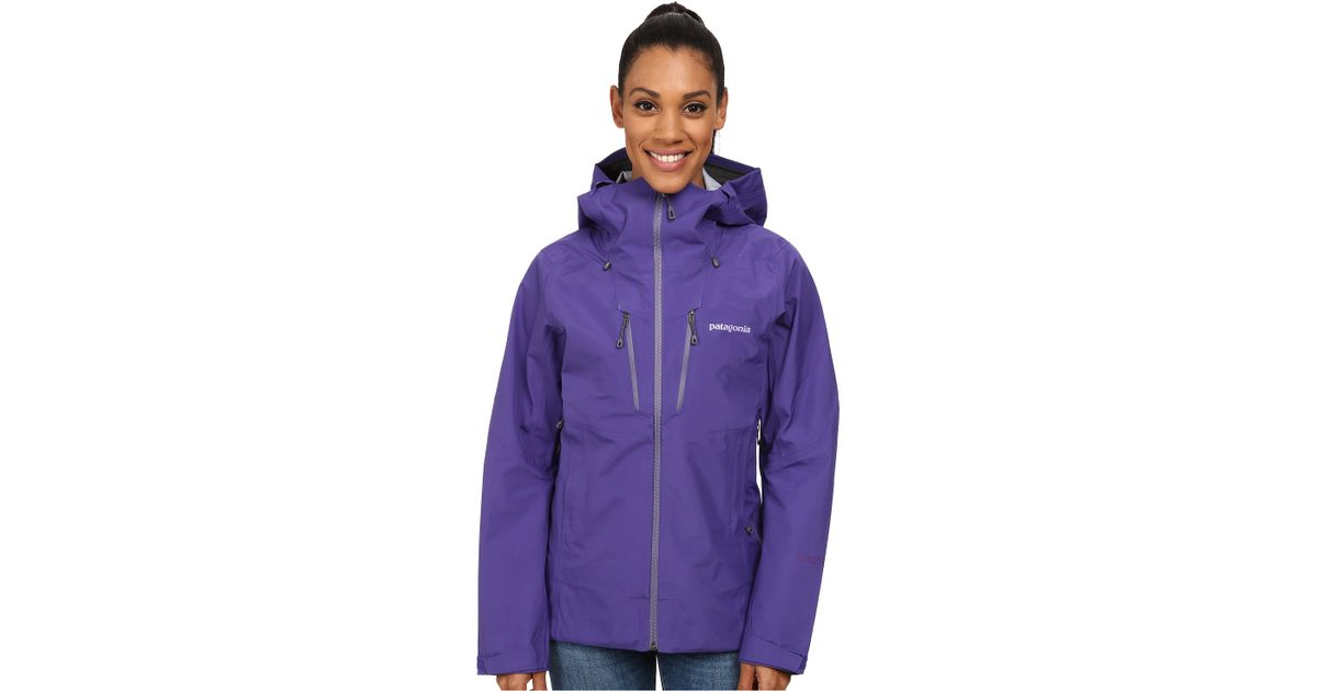 Patagonia women's down sweater concord purple
