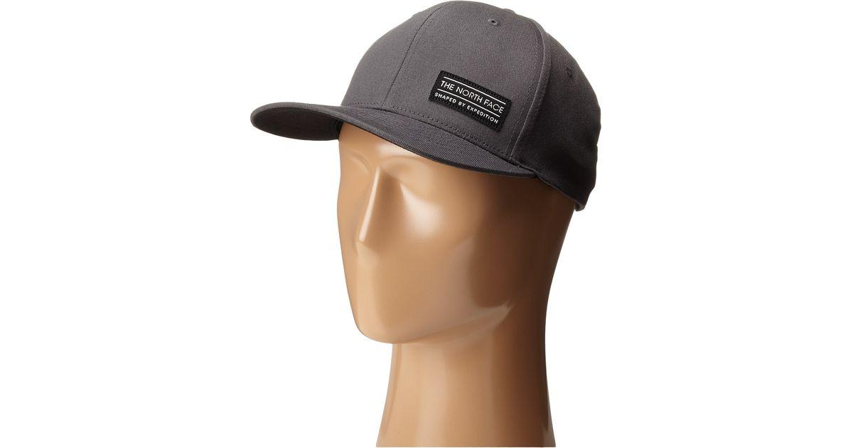 8e23c9b2156 Lyst - The North Face Sbe Flex Ball Cap in Gray for Men