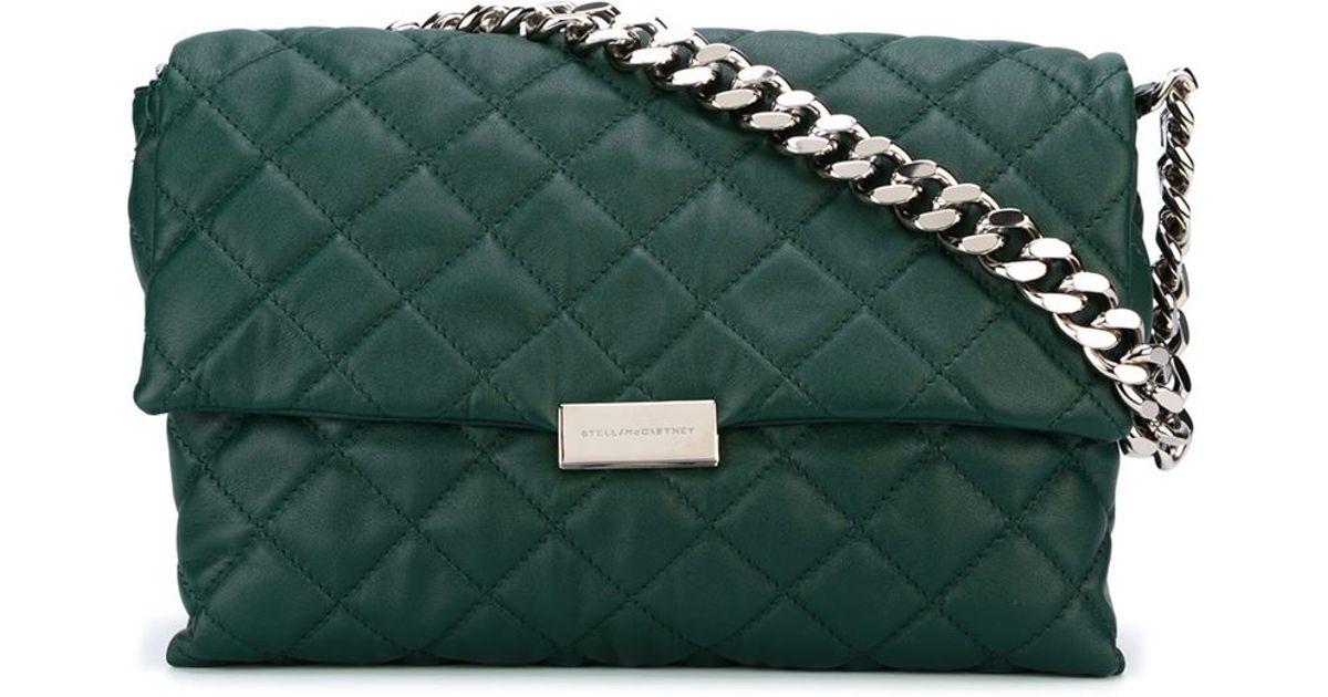 3645478df2b4 Lyst - Stella McCartney  beckett  Shoulder Bag in Green