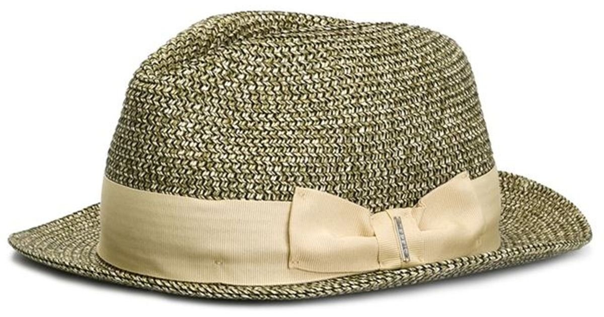 e678d99ed0e Diesel  cialess  Fedora Hat in Brown for Men - Lyst