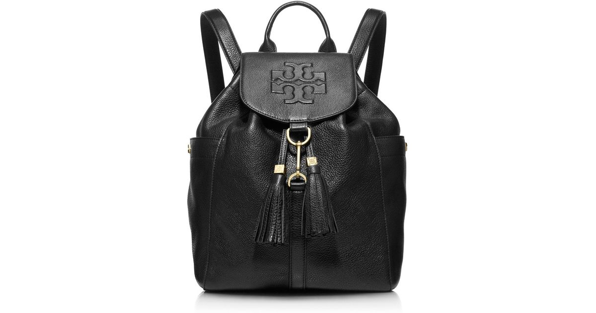 14bb4b5042c4 Tory Burch Thea Backpack in Black - Lyst