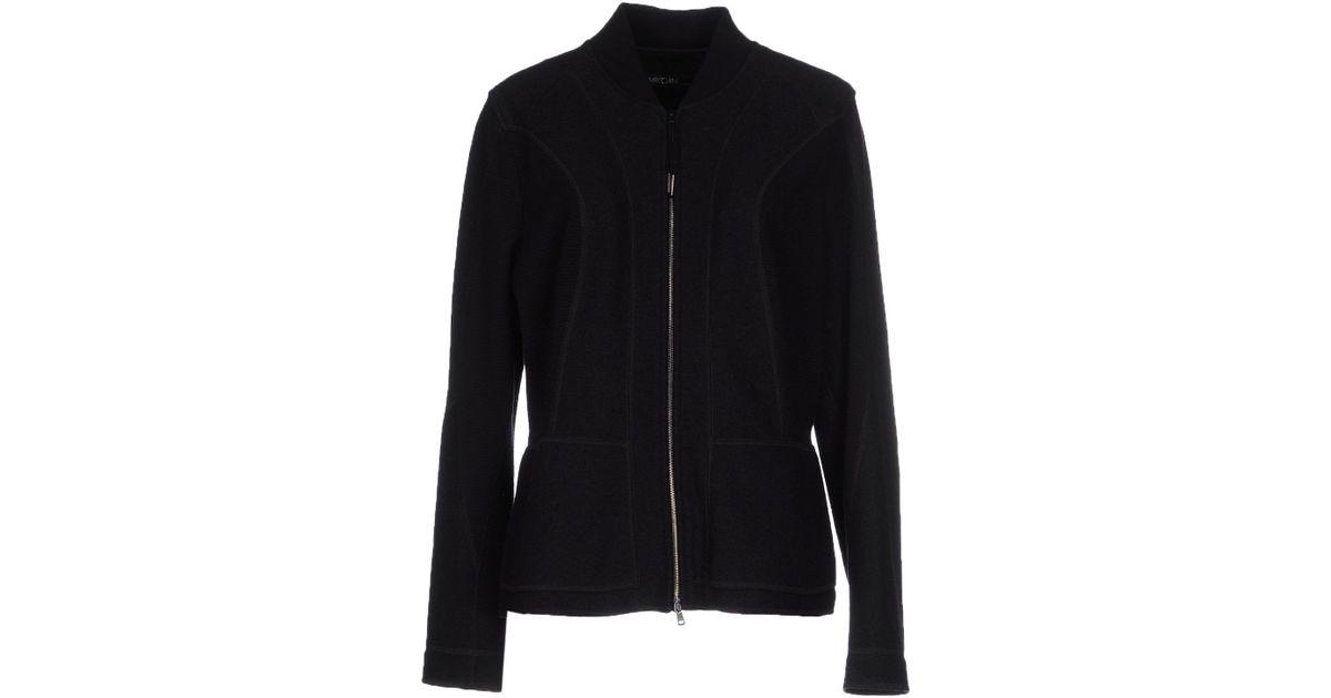 marc cain jacket in black lyst. Black Bedroom Furniture Sets. Home Design Ideas