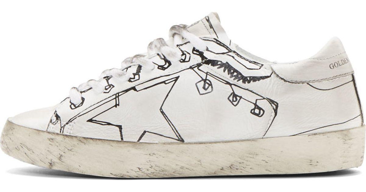 Golden Goose SSENSE Exclusive & Grey Superstar Sneakers