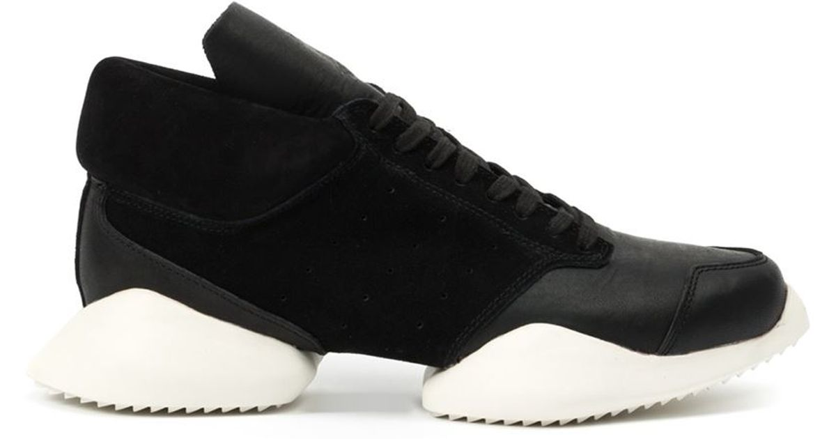 f020f7c6f23 Lyst - Rick Owens X Adidas  Tech Runner  Sneakers in Black for Men