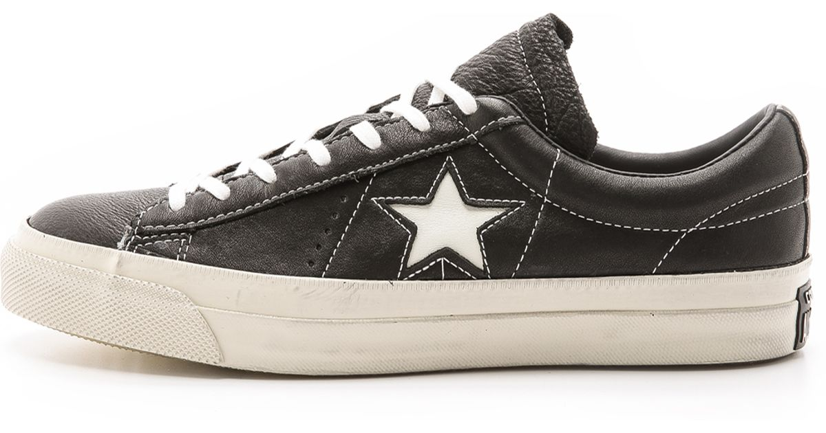 82a52369bdda Lyst - Converse John Varvatos One Star Sneakers in Black for Men