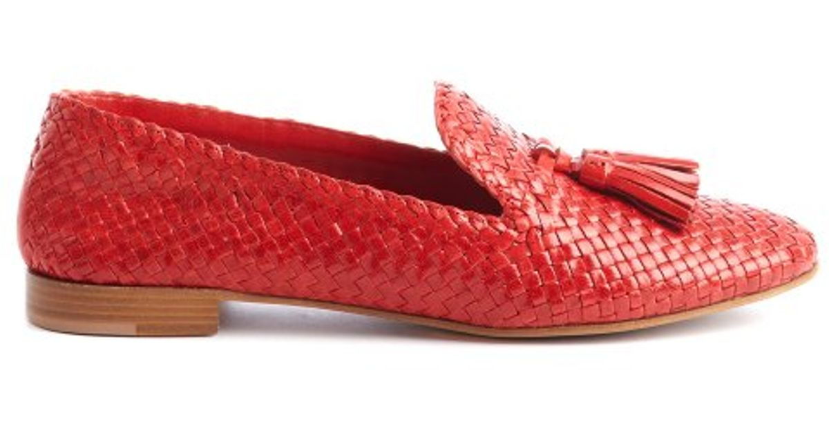 Prada Woven Leather Loafers new arrival cheap online outlet latest best seller cheap online avUQJ