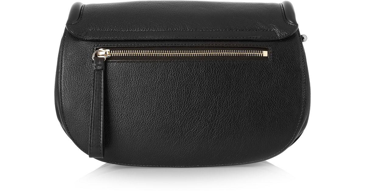 3655beae5d2c Lyst - Proenza Schouler U Textured-leather Shoulder Bag in Black
