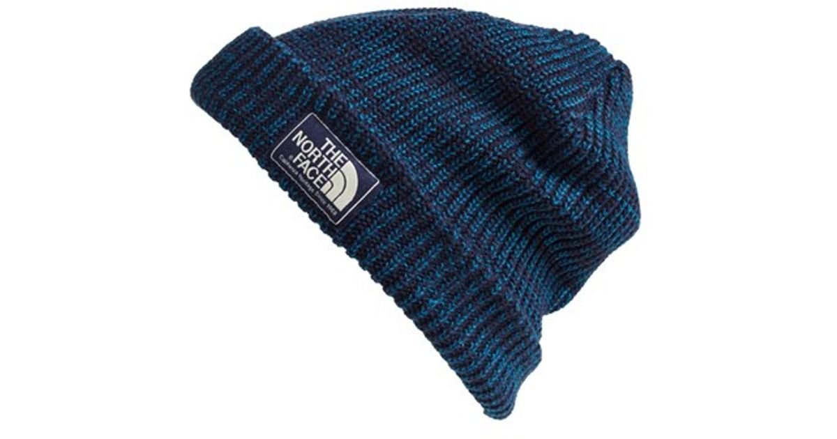 a241bfc9603 Lyst - The North Face  salty Dog  Beanie in Green for Men