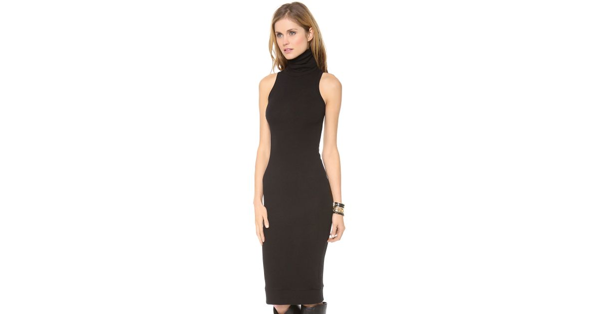 Sleeveless Turtleneck Dresses