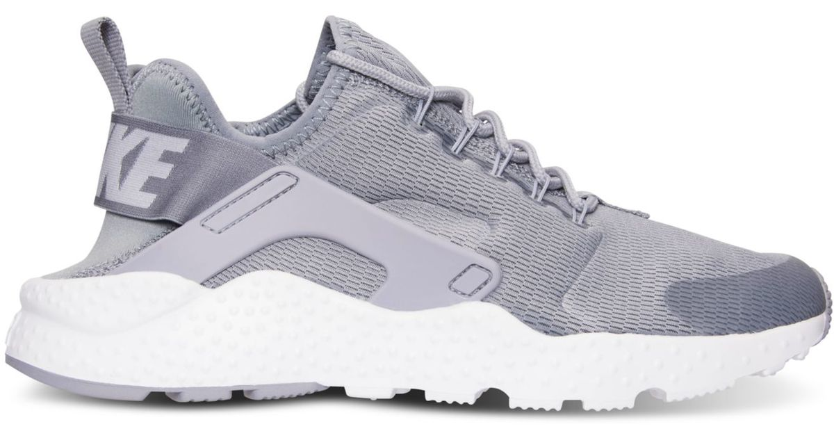 Lyst - Nike Women s Air Huarache Run Ultra Running Sneakers From Finish Line  in Gray 4f07e603ceb3