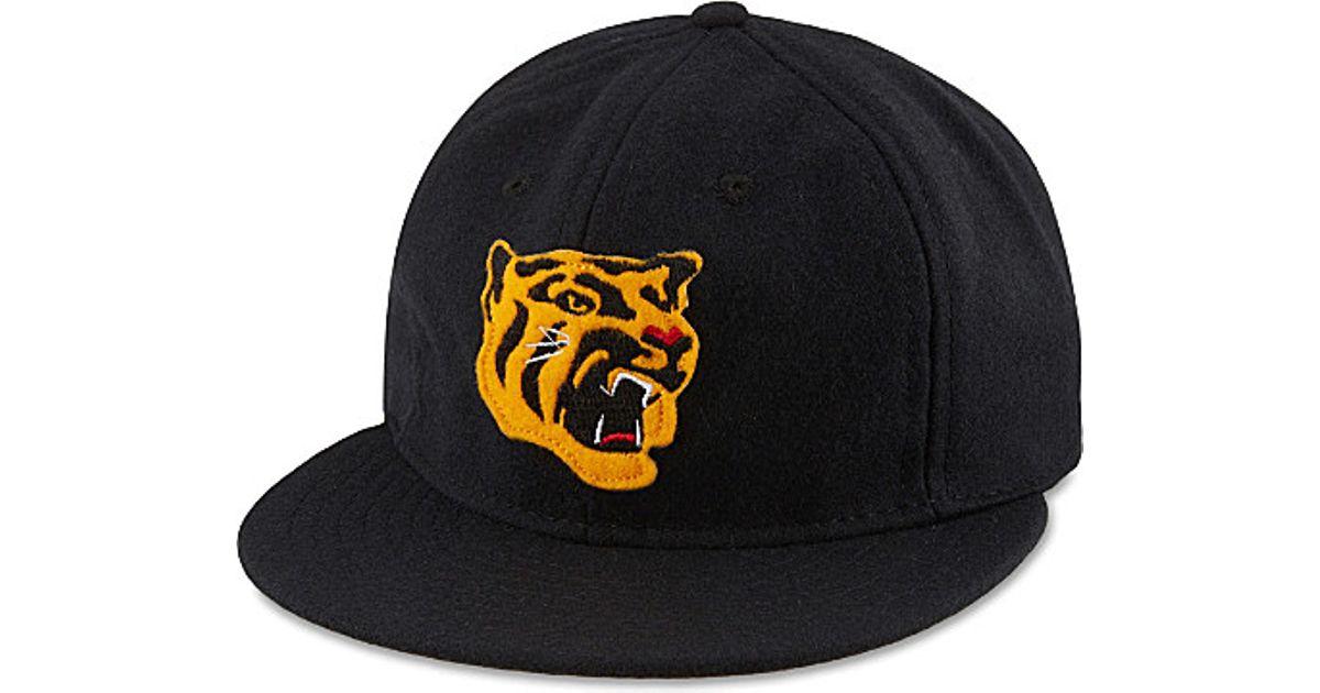53b2f18f56e Lyst Ebbets Field Flannels Osaka Tigers Ballcap In Black For Men