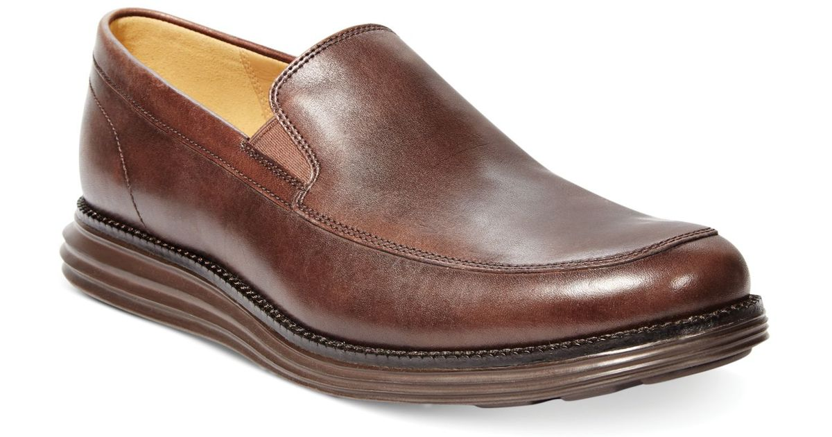 5339359987f54 Lyst - Cole Haan Lunar Grand Venetian Loafers in Brown for Men
