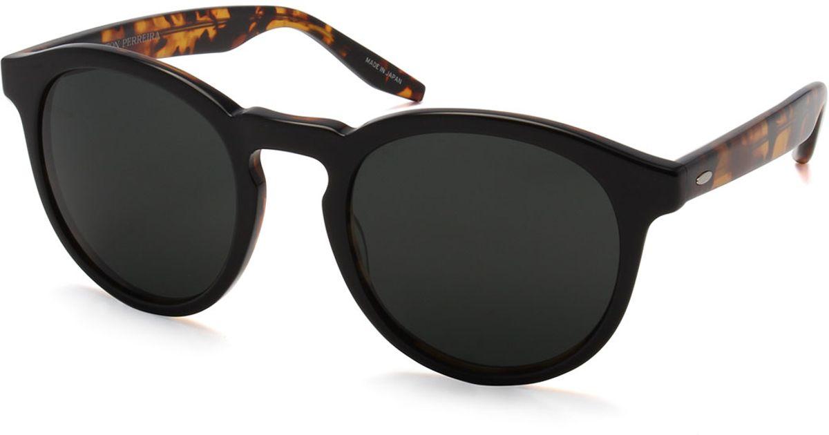 9428c46ab6 Lyst - Barton Perreira Goodman Acetate Sunglasses in Brown