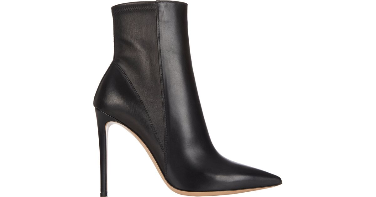 Sergio Rossi Leather Ankle Boots buy cheap with credit card XOYXhyl9
