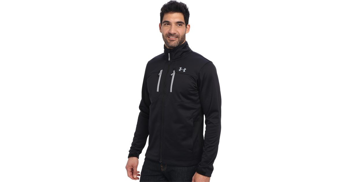 Lyst Under Armour Ua Coldgear Infrared Softershell Jacket In Black